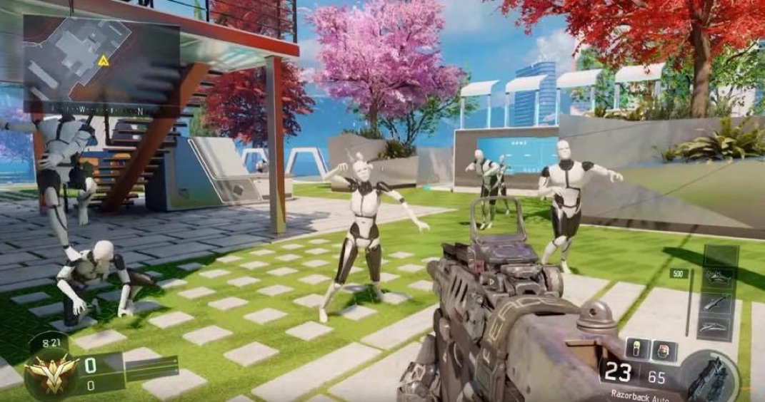 BO3 NUK3TOWN Easter Eggs! - Call Of Duty - INTEL